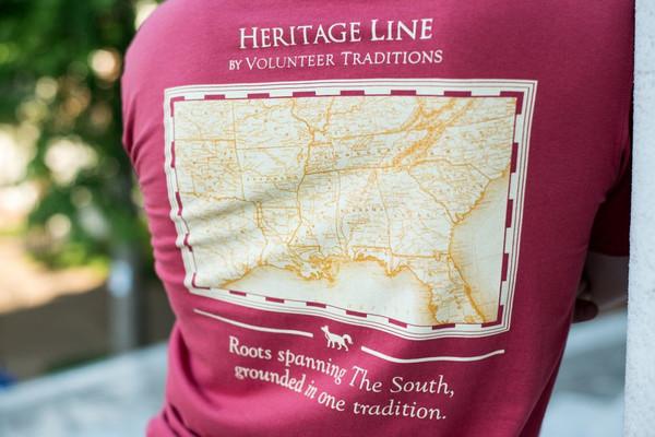 Crimson Heritage Line Tee